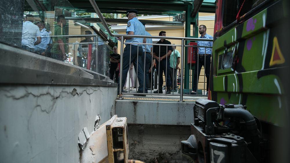 Εκτροχιασμός συρμού του ΗΣΑΠ στην Κηφισιά: Εννέα άτομα τραυματίστηκαν