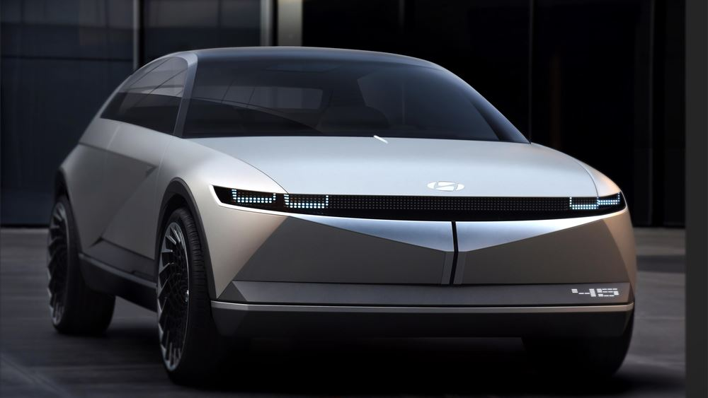 Hyundai: Το 45 EV Concept στο Σαλόνι Αυτοκινήτου της Φρανκφούρτης