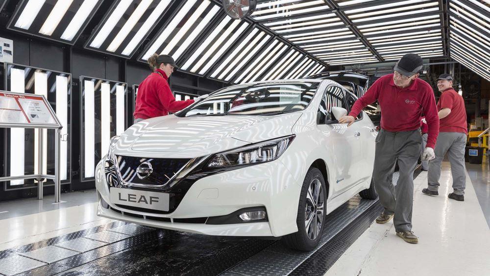 H παραγωγή του Nissan Leaf ξεπέρασε εκείνη του θρυλικού Bluebird