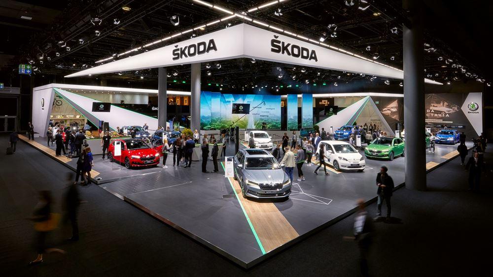 H Skoda στην 68η Διεθνή Έκθεση Αυτοκινήτου της Φρανκφούρτης