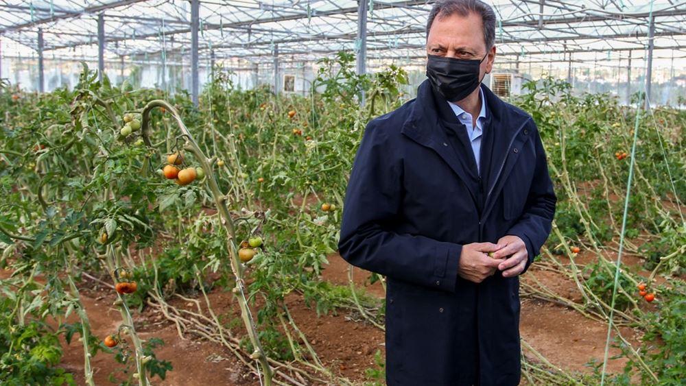 Πάνω από €400 εκατ. το νέο μέτρο για τις βιολογικές καλλιέργειες που εξήγγειλε ο Σπήλιος Λιβανός