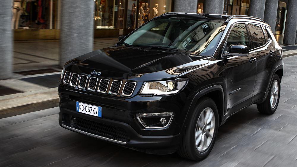 To plug-in υβριδικό Jeep Compass στην Ελλάδα