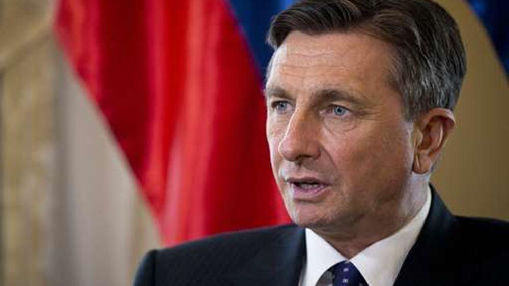 Σλοβενία: Ο πρόεδρος απορρίπτει την αλλαγή συνόρων στα Βαλκάνια