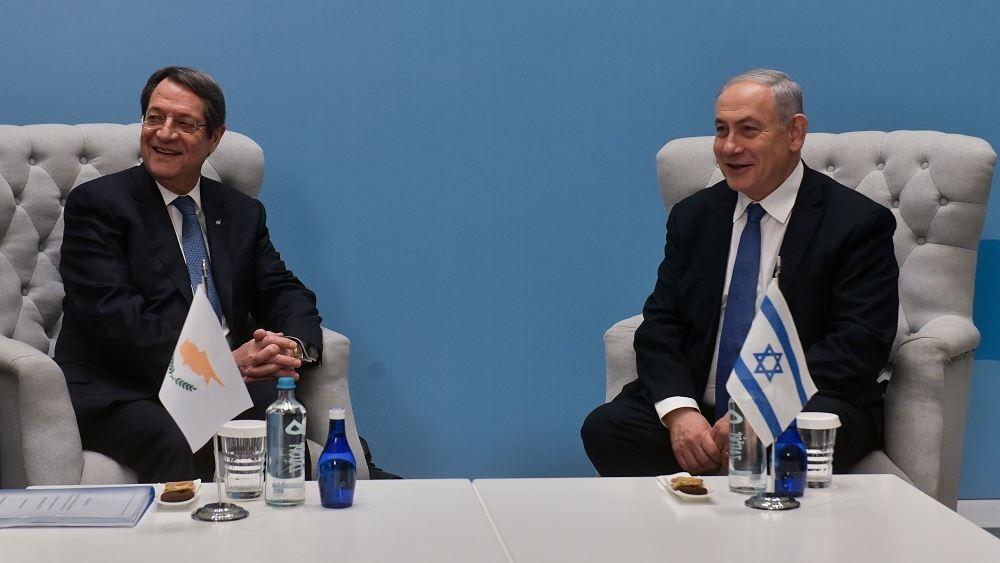 Αναστασιάδης: Κύπρος και Ισραήλ έχουν αρχίσει μια νέα εποχή συνεργασίας