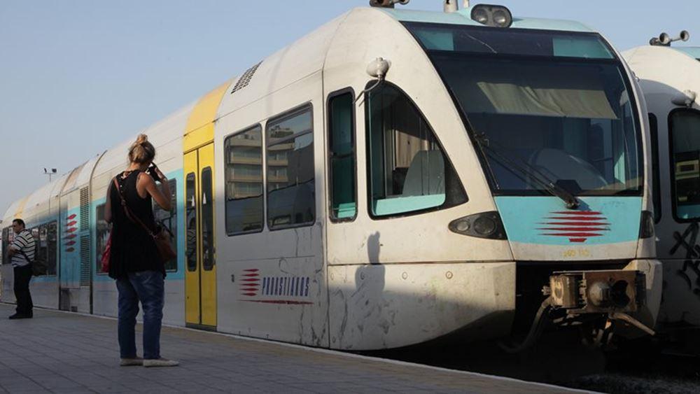Συγκρουση τρένων στο σιδηροδρομικό σταθμό Ρέντη