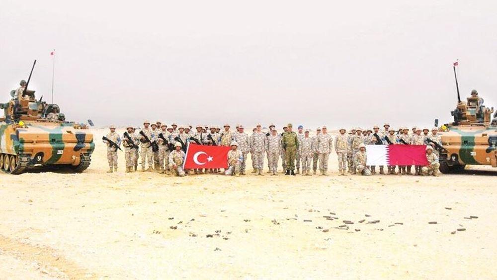 Η Τουρκία άνοιξε νέα στρατιωτική βάση στο Κατάρ