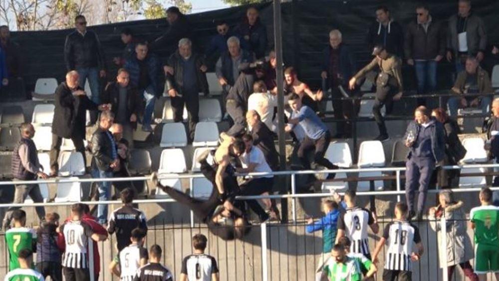 Επεισόδια σε ποδοσφαιρικό αγώνα της Γ' Εθνικής