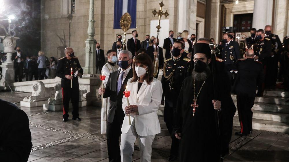 Σακελλαροπούλου: Εύχομαι ολόψυχα η φετινή Ανάσταση να σημάνει το τέλος της πανδημίας