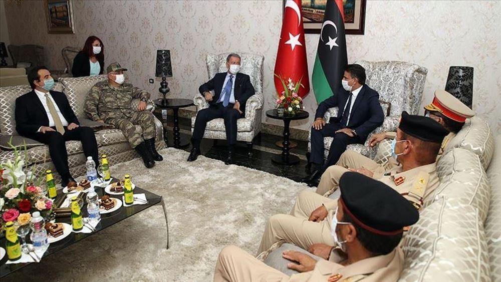 Στη Λιβύη ο Ακάρ και ο Τούρκος ΑΓΕΕΘΑ