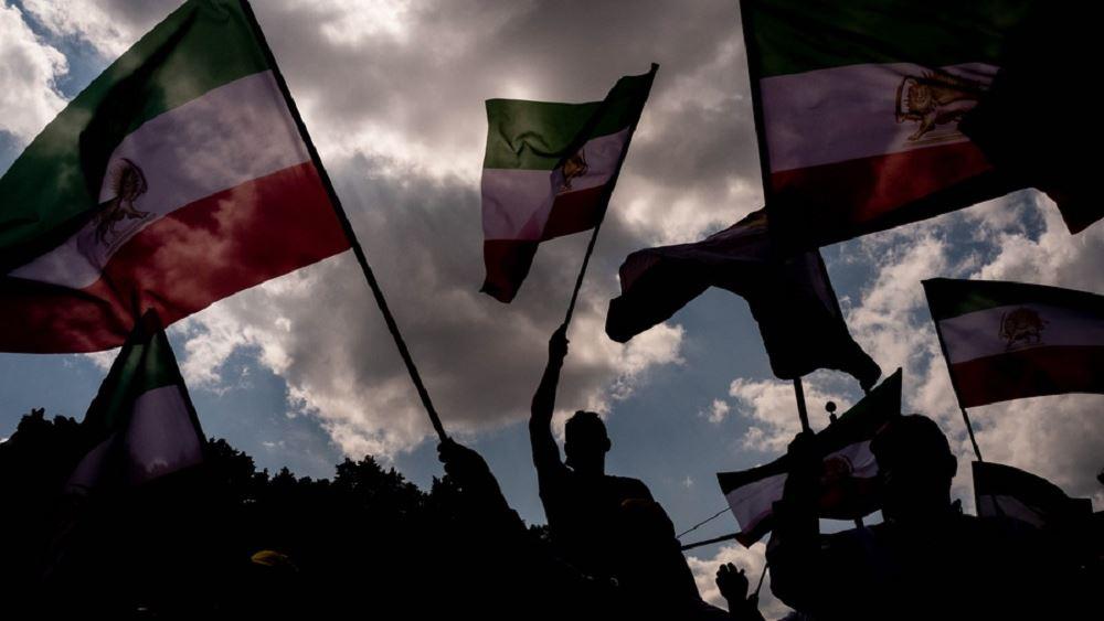 Ιρανοί εξόριστοι διαδηλώνουν στο Βερολίνο και αλλού ζητώντας τη δίωξη του εκλεγμένου Ιρανού προέδρου Ραϊσί