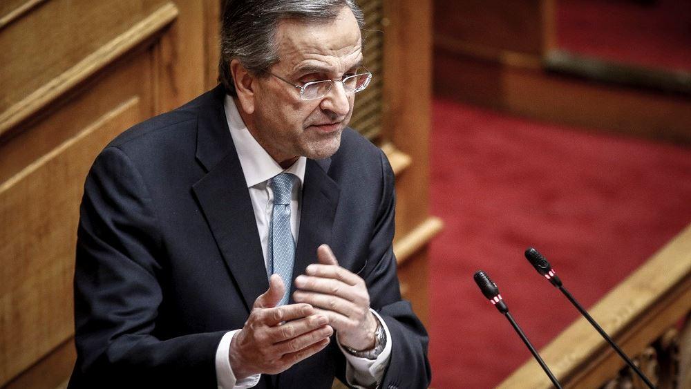Τον νέο πρωθυπουργό Κυρ. Μητσοτάκη συνεχάρη τηλεφωνικά ο Αντ. Σαμαράς