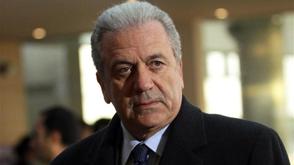 Δ. Αβραμόπουλος: Η Ευρώπη θα βρεθεί αντιμέτωπη με νέες προσφυγικές ροές απ' τη Συρία