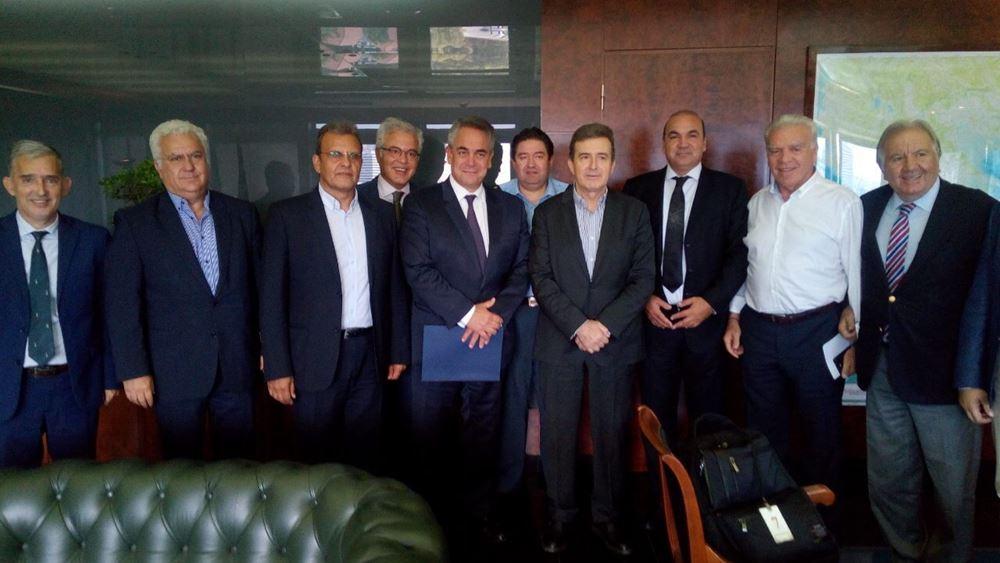 Συνάντηση εκπροσώπων των Επιμελητηρίων με τον υπ. Προστασίας του Πολίτη Μ. Χρυσοχοΐδη