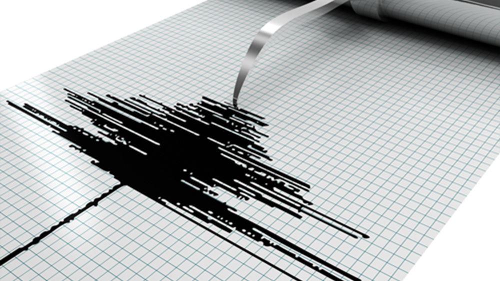Ασθενής σεισμός 3,1 Ρίχτερ βορειοανατολικά της Ναυπάκτου