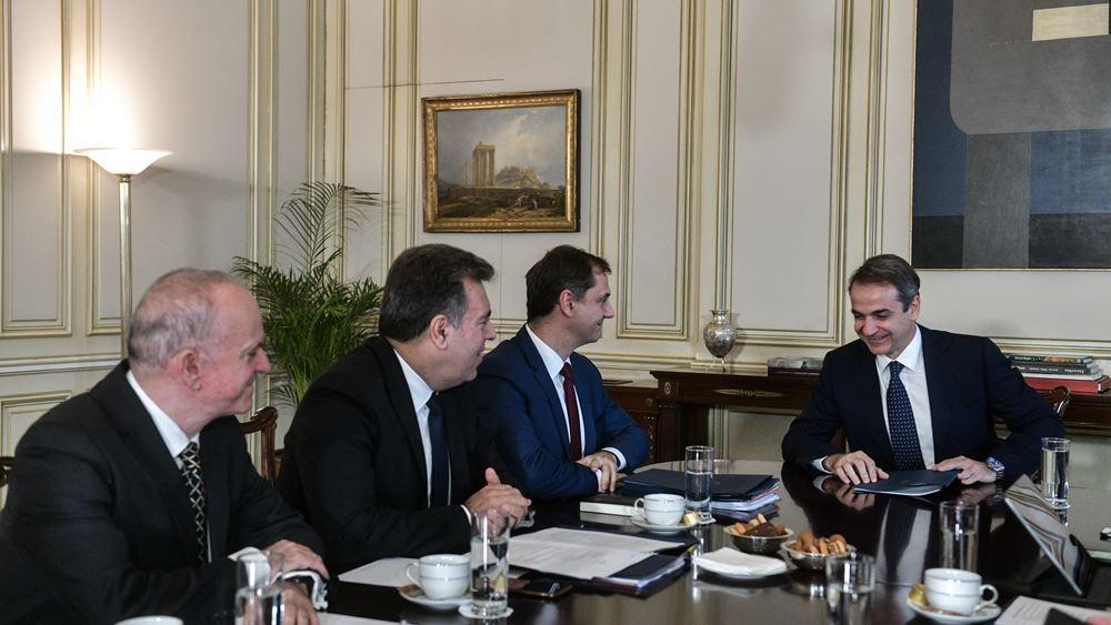 Συνάντηση Κ. Μητσοτάκη με ηγεσία υπ. Τουρισμού: Κάναμε καλή δουλειά στα έσοδα το β' εξάμηνο