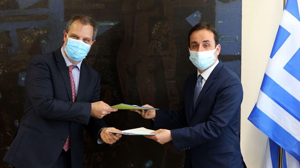 Συμφωνία ΕΤΑΔ - Δήμου Γαλατσίου για την αξιοποίηση του εμβληματικού Ολυμπιακού Κέντρου Γαλατσίου
