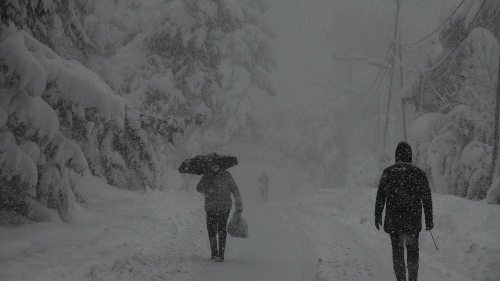 Σε κατάσταση έκτακτης ανάγκης πολιτικής προστασίας ο δήμος Διονύσου