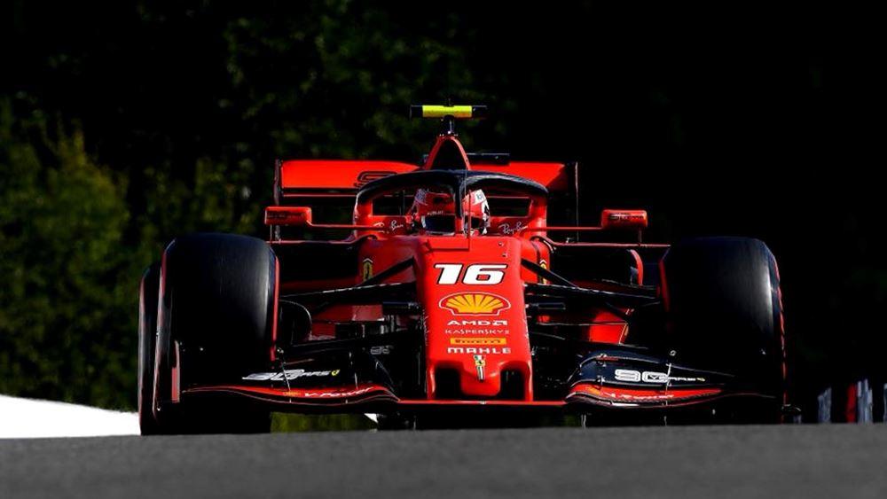F1: Νίκη του Leclerc με Ferrari