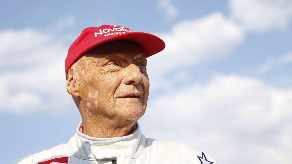 Έφυγε από τη ζωή ο θρύλος της Formula 1 Niki Lauda
