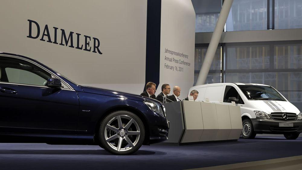Daimler: Σταθεροποιούνται οι πωλήσεις στην Κίνα
