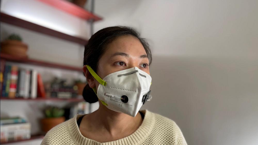 Δημιουργήθηκε στις ΗΠΑ η πρώτη μάσκα που κάνει διάγνωση της Covid-19 με ακρίβεια μοριακού τεστ