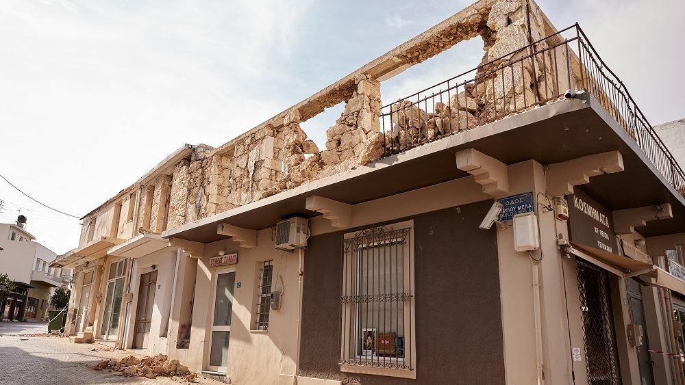 Τα 12 μέτρα στήριξης για τους πληγέντες από τον σεισμό στην Κρήτη