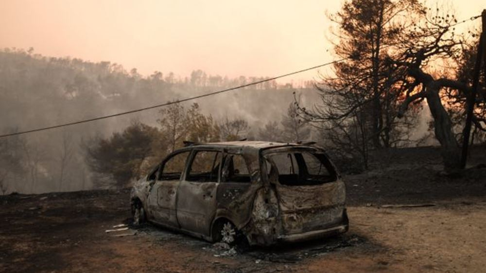 Εύβοια: Συγκρατημένη αισιοδοξία για την πορεία της πυρκαγιάς