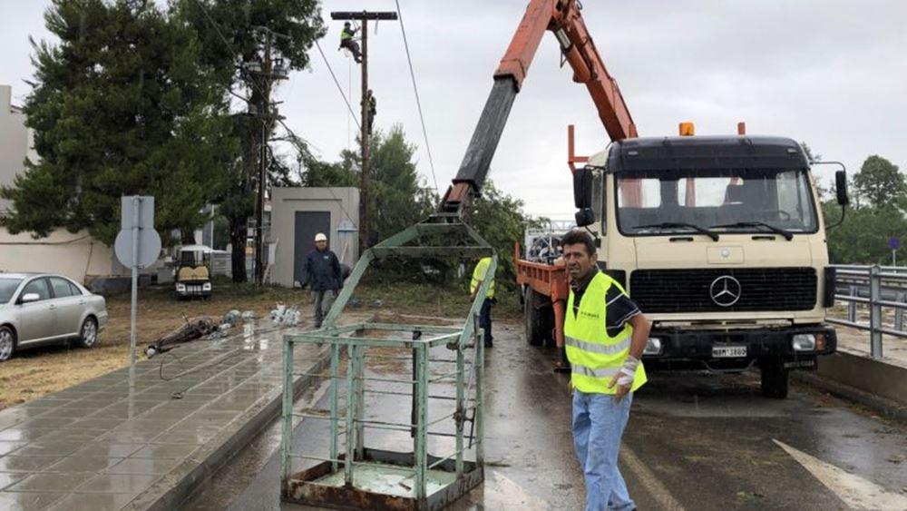 Χαλκιδική: Αποδόθηκε στην κυκλοφορία το τμήμα του δρόμου Ποτίδαιας - Ν. Φώκαιας