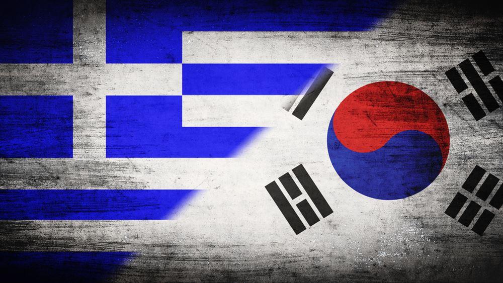 Σε εξέλιξη οι διευρυμένες συζητήσεις των αντιπροσωπειών Ελλάδας-Κορέας, στο Μαξίμου