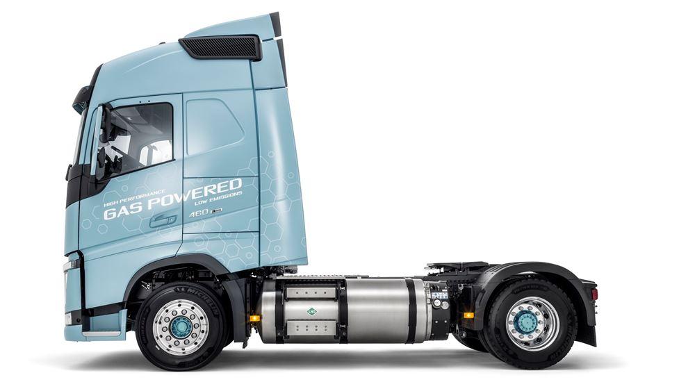 """ΤΙΤΑΝ: Στον στόλο του το πρώτο φορτηγό όχημα που θα κινείται αποκλειστικά με """"καθαρό καύσιμο"""" LNG"""