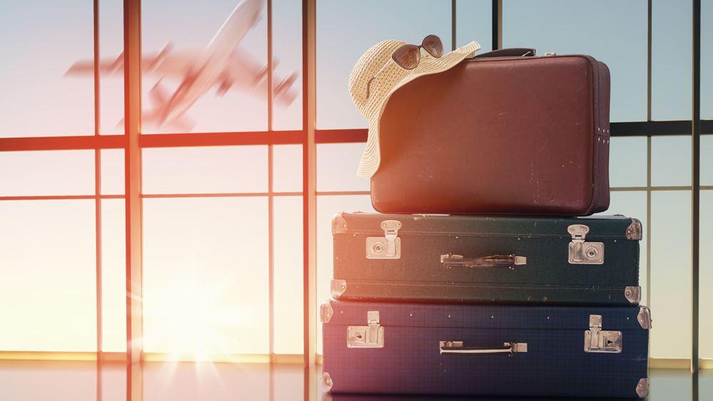 Πτώση 79,3% στις ταξιδιωτικές εισπράξεις το α' τετράμηνο - αύξηση 211% τον Απρίλιο