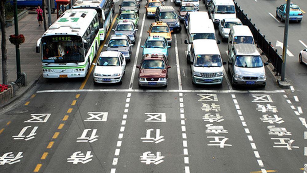 Κίνα: Υποχώρησαν 18% οι πωλήσεις αυτοκινήτων τον Ιανουάριο