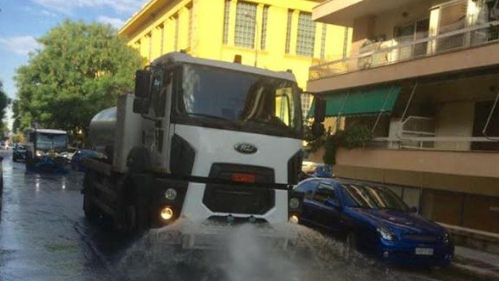 Κώστας Μπακογιάννης: Καθαριότητα και φροντίδα για όλες τις γειτονιές