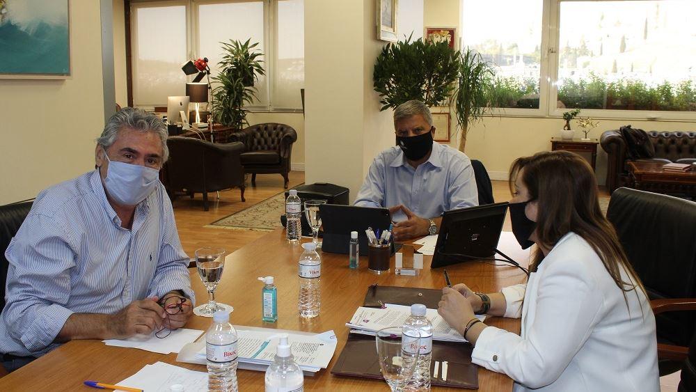 Συνάντηση Γ. Πατούλη με τον πρόεδρο της Πανελλήνιας Ένωσης Εποπτών Δημόσιας Υγείας