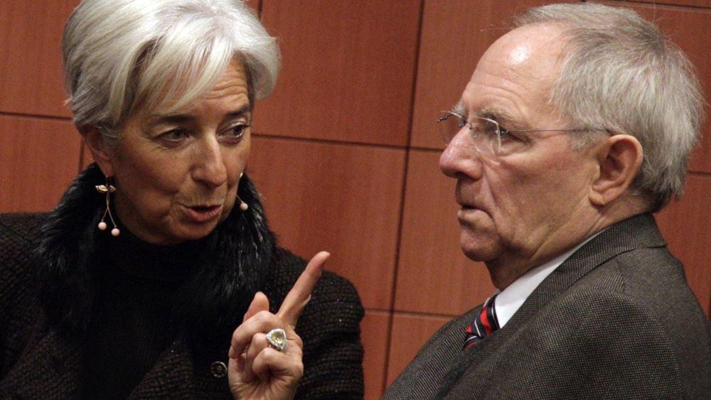 """Προς δόσεις 7,4 δισ. ευρώ, με """"αστερίσκους"""" ΔΝΤ-Γερμανίας"""