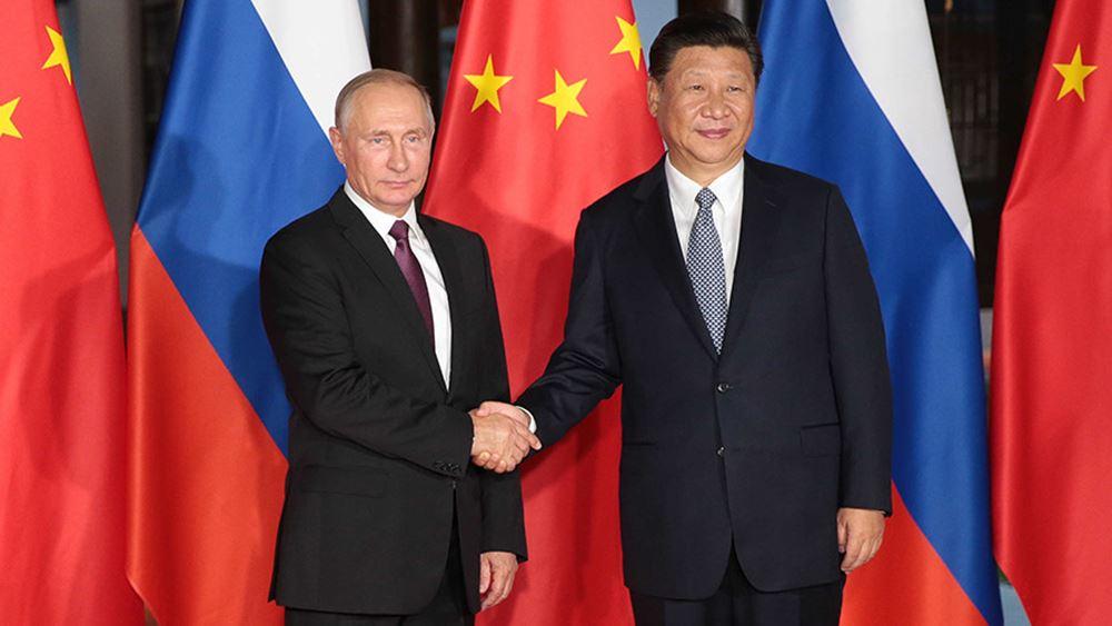 Συμφωνία Πούτιν - Σι Τζινπίνγκ να ενισχυθούν οι οικονομικές σχέσεις Ρωσίας - Κίνας