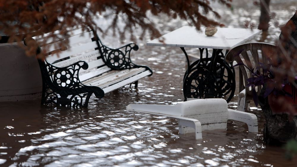 Ζαγορά Πηλίου: Έβρεξε σε 72 ώρες όσο βρέχει σε 2 χρόνια στην Αθήνα