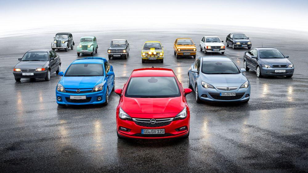 Opel Kadett και Astra: 85 χρόνια παρουσίας στην κόμπακτ κατηγορία