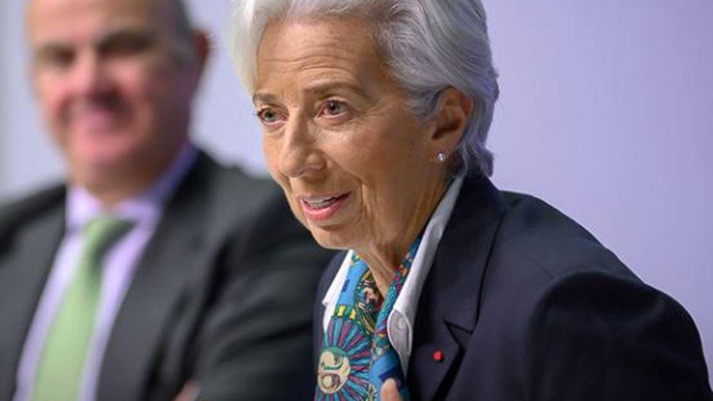 Lagarde: Θα αναθεωρήσουμε εργαλεία, τρόπους μέτρησης, επικοινωνία