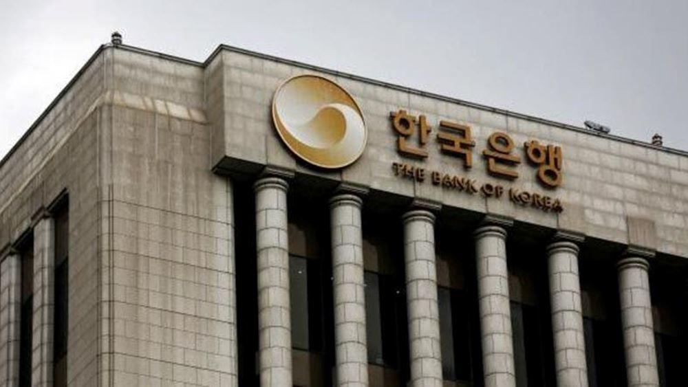 Ν. Κορέα: Σε ιστορικό χαμηλό 0,75% μείωσε το βασικό επιτόκιο η κεντρική τράπεζα