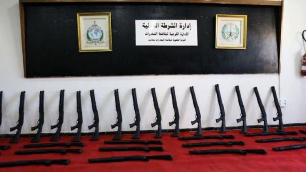 Τυνησία: Κατασχέθηκαν λαθραία όπλα που προορίζονταν για τη Λιβύη