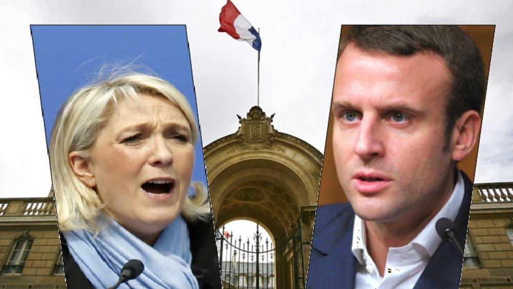 Γαλλία - exit poll: Πρωτιά Λεπέν, δεύτερο το κεντρώο κίνημα του Μακρόν