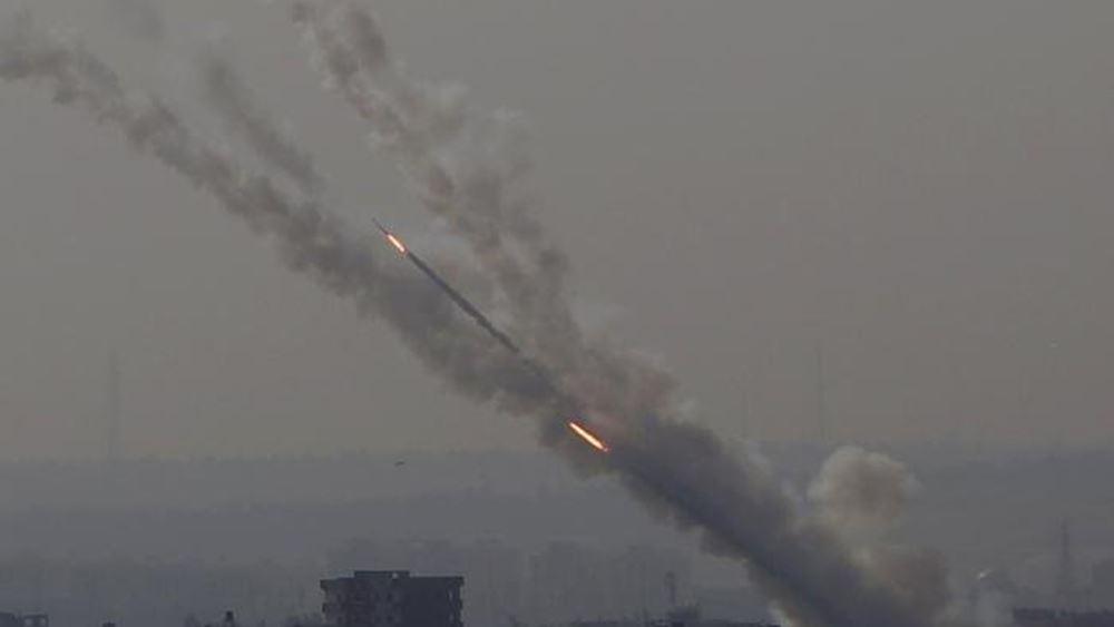Δύο ρουκέτες εκτοξεύθηκαν από τη Λωρίδα της Γάζας στο νότιο Ισραήλ