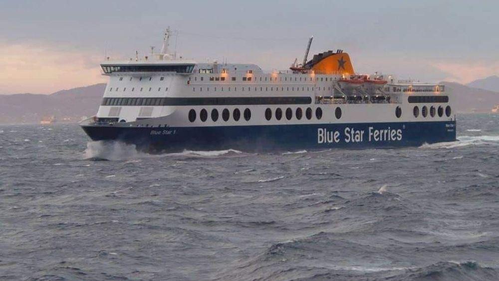 """Στο λιμάνι της Ρόδου κατέπλευσε το """"Blue Star 2"""""""