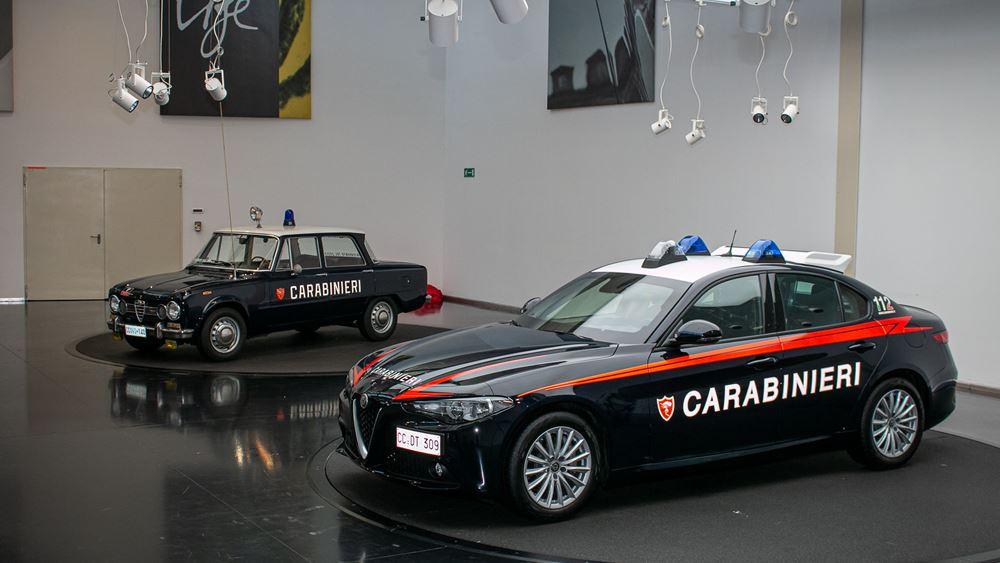 Η Alfa Romeo Giulia στις υπηρεσίες των Carabinieri