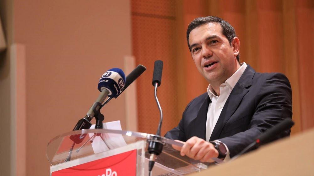 """Τσίπρας για ελληνική κρίση: Έφταιξε ο καπιταλισμός """"αλά ελληνικά"""" και οι εμμονές ΔΝΤ"""