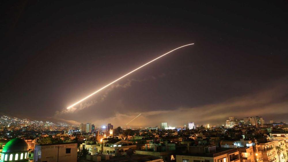 Συρία: Καταγγέλλει χτύπημα ισραηλινών μαχητικών κατά του αεροδρομίου της Δαμασκού