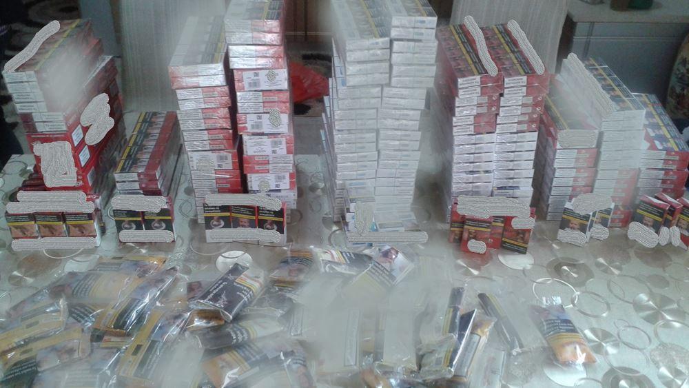 Κατασχέθηκαν περισσότερα από 165.000 πακέτα τσιγάρα σε αποθήκη στη Μαγούλα Αττικής
