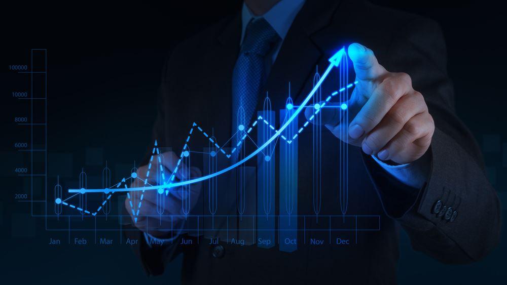 Ανοδικήαναθεώρηση του ρυθμού ανάπτυξης για το 2021 στο 7,5% από την Εθνική Τράπεζα