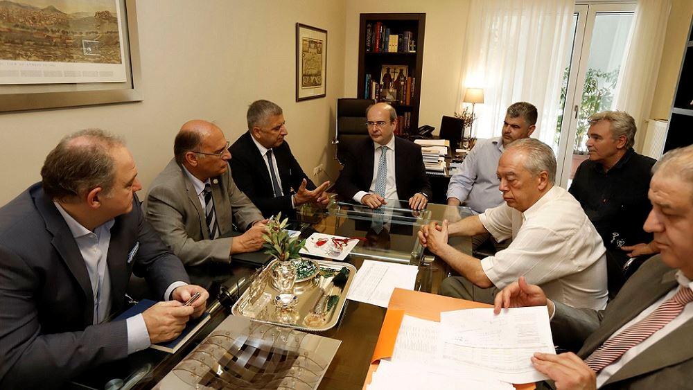 Συνάντηση Κ. Χατζηδάκη με τον πρόεδρο του ΙΣΑ και το Συντονιστικό των Φορέων ΠΦΥ